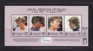 Virgin Islands 878 Set MNH Princess Diana