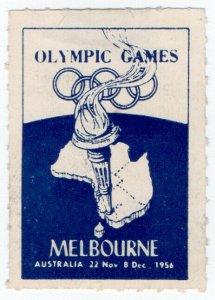 (I.B) Australia Cinderella : Olympic Games (Melbourne 1956)