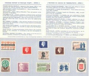 CANADA - Souvenir Card Canada Post 1962 Canadian History Series 5