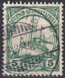 German South West Africa #27 F-VF Used