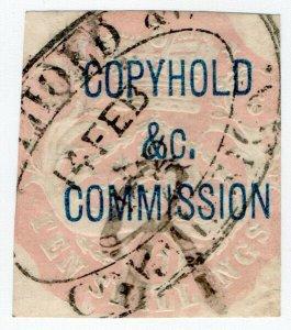 (I.B) QV Revenue : Copyhold Commission 10/- (1868)