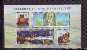 Great Britain Sc 2556 2008 Northern Ireland stamp sheet mint NH