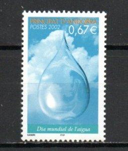 Andorra - French 558 MNH