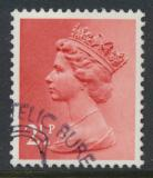 Great Britain SG X929 Sc# MH32    Used with first day cancel - Machin 2½p