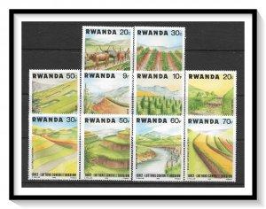 Rwanda #1140-1149 Soil Erosion Prevention Set MNH
