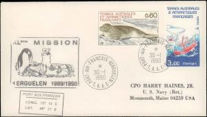 French Southern & Antarctic Territory #219, Antarctic Cachet and/or Cancel
