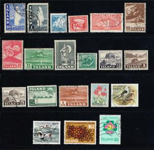 Iceland  MiniLOT 20 All Diff