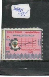 KUWAIT  (P0106B)  CENSUS   SG 496-8        MNH