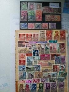 Lot Spain 76 stamps used/unused