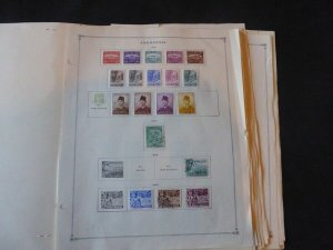 Indonesia 1953-1977 Stamp Collection on Album Pages