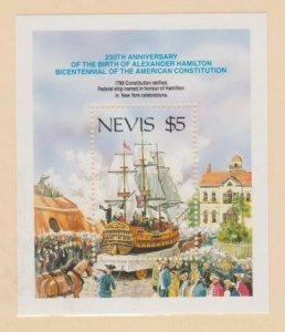 Nevis Scott #537 Stamps - Mint NH Souvenir Sheet