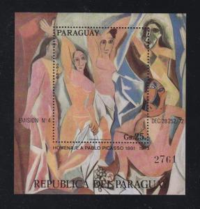 Paraguay Scott # 1529 S/Sheet MNH Note