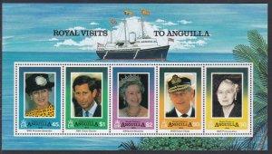 908a Royal Visits SS MNH