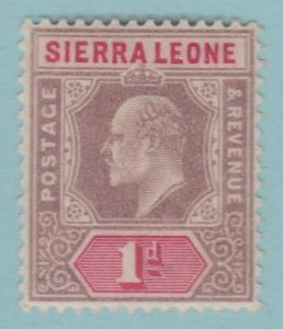 Sierra Leone 65 Mint Hinged OG * - No Faults Very Fine!