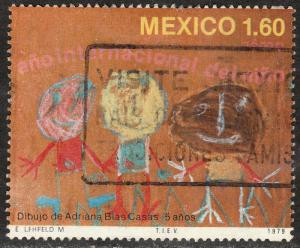MEXICO C604, International Year of the Child. Used. F-VF. (1195)