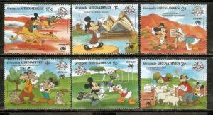 Grenada Grenadines Walt Disney Animation Cartoon Film Mickey Mouse Sydpex Don...
