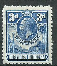 Northern Rhodesia  SG 5 Mint Hinged