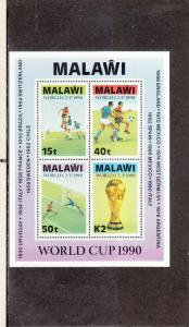 MALAWI 569a SOUVENIR SHEET MNH 2019 SCOTT CATALOGUE VALUE $17.00
