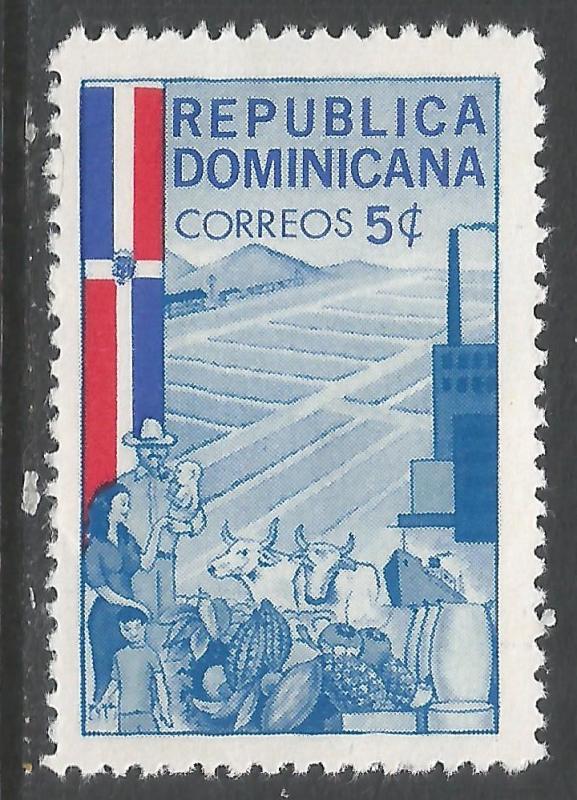 DOMINICAN REPUBLIC 568 MOG T435