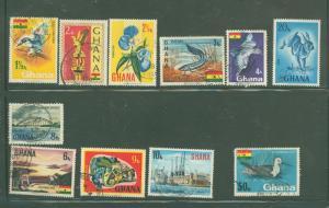 Ghana 286-300 Used VF(Missing 286,298-300) 297 cr