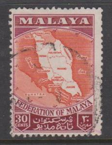 Malaya Federation Sc#83 Used