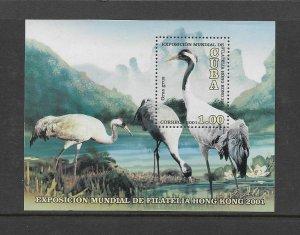 BIRDS - CUBA  #4128  MNH