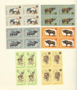 Vietnam 309-314  blk of 4  MNH