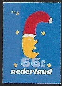Netherlands - # 1041d - December Stamps / Santa's Head - S/A - MNH