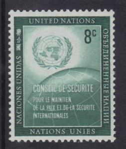 United Nations New York 1957 security council  8c   #