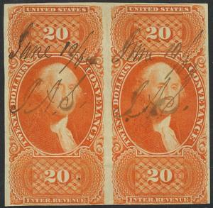 R98a, RARE PAIR - F-VF Cat $400.00++