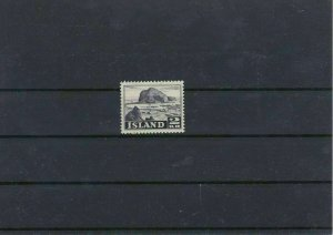 Iceland 1950 2k Mounted Mint Stamp CAT£31 Ref: R7486