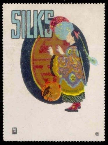 SILKS - Generic Advertising Poster Stamp