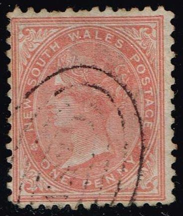 Australia-NSW #52 Queen Victoria; Used (2.50)