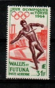Wallis and Futuna Islands Scott C19 Mint NH (Catalog Value $22.50)