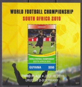 2011 Guyana 8117/B833 2010 World championship on football South Africa