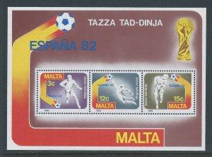 Malta #618a NH '82 World Cup Soccer, Espana SS