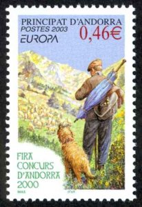 Andorra, French Sc# 570 MNH 2003 Europa