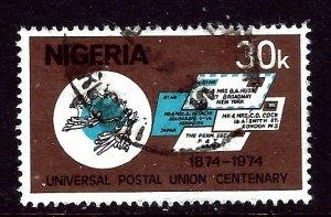 Nigeria 323 Used 1974 issue    (ap3268)