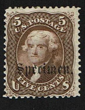 Scott #76S-B Fine-OG-LH. SCV - $200.00