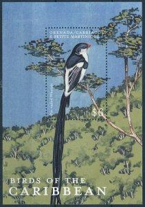 [108785] Carriacou & Petite Martinique 2000 Bird Pin-tailed Whydah Sheet MNH