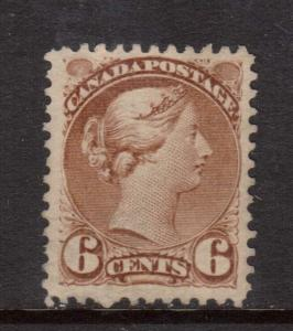 Canada #39 VF Mint **With Certificate**