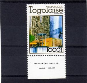Togo 1978 25th.Ann.Coronation Q.E.II (1) MNH Sc# 979
