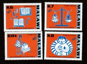 Malawi MNH 683-6 Human Rights