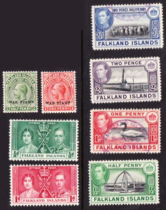 Falkland Islands - early batch