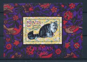 [35293] Nevis 1994 Animals Cats Persian MNH Sheet