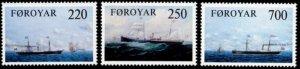 Faroe Islands #90-92 Fa81-83 MNH CV$3.55