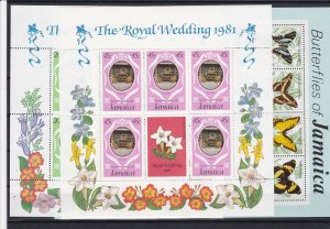 vintage jamaica stamps ref r9802
