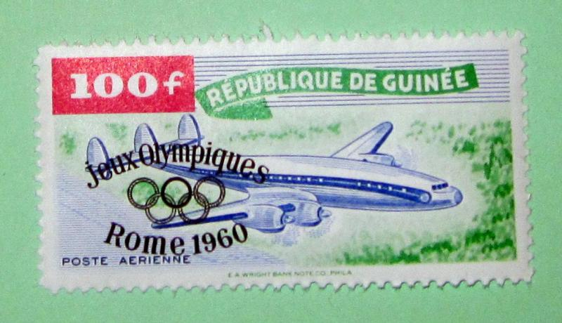 Guinea - C24, MNH. Olympic Ovpt. SCV - $9.75