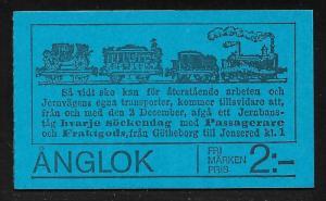 SWEDEN SC# 1136a COMP BKLT/6  FVF/MNH 1975