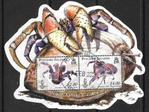 PITCAIRN ISLANDS SGMS778 2009 COCONUT CRAB FINE USED